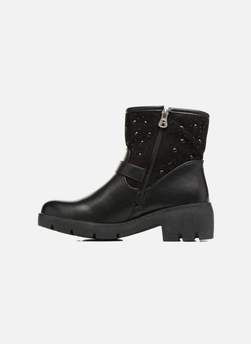 Bottines et boots Refresh Zippe Noir vue face